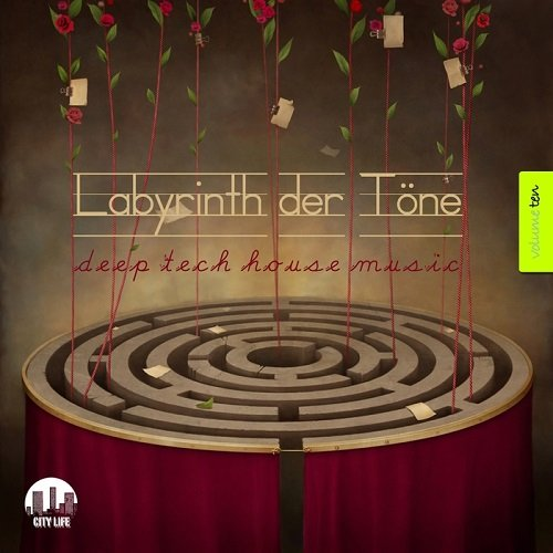 Va labyrinth der tone deep tech house music for House music 2015