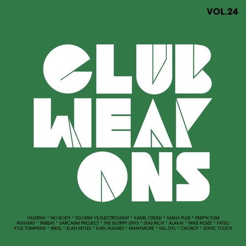VA - Club Weapons Vol 24 Electro House (2015)