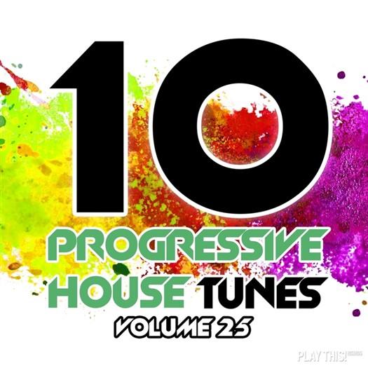 VA - 10 Progressive House Tunes, Vol. 25 (2016)