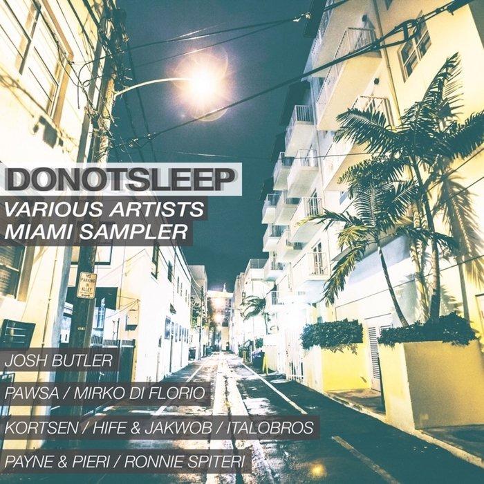 VA - DoNotSleep Miami Sampler 2016