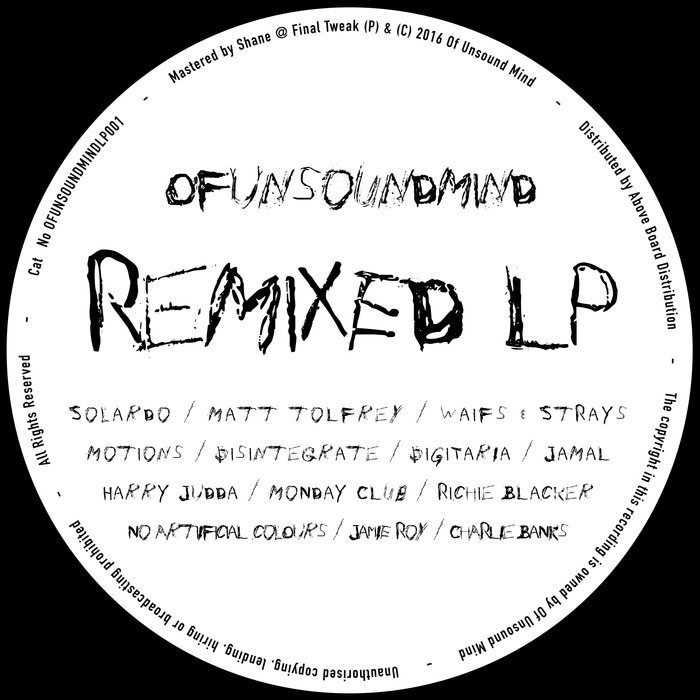 VA - Remixed LP (2016)