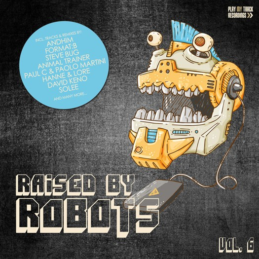 VA - Raised By Robots Vol 6 (2016)
