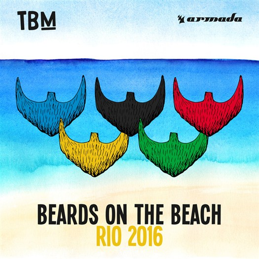 VA - The Bearded Man - Beards On The Beach (Rio de Janeiro) (2016)