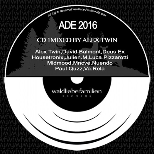 VA - ADE CD2 Alex Twin (unmixed tracks)