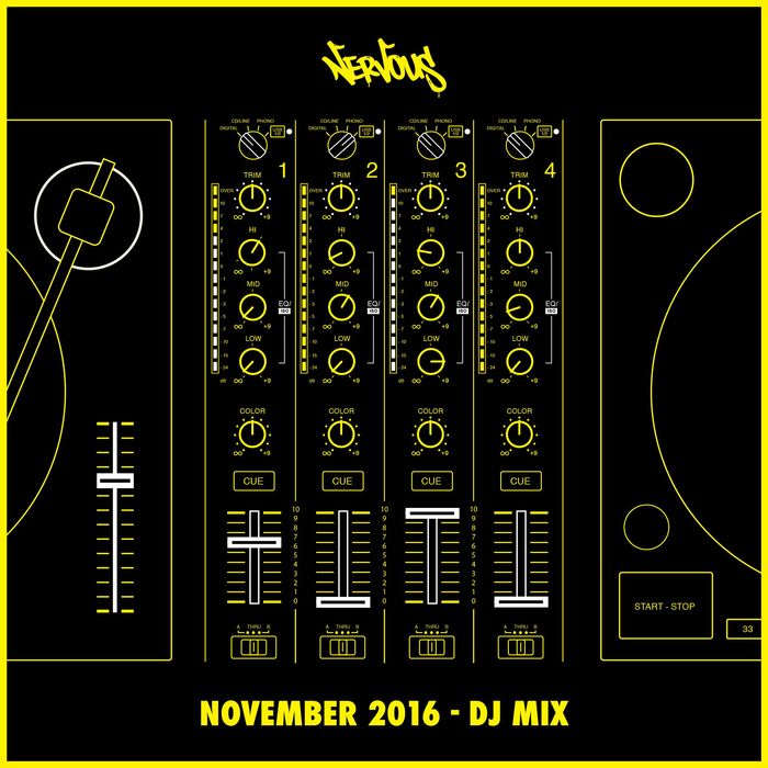 VA - Nervous November 2016   DJ Mix
