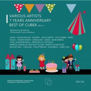 VA - 7 Years Anniversary Best of Cubek, Pt. 1 Selected by Humberto [Cubek]