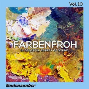 VA - Farbenfroh, Vol. 10 [Budenzauber]