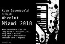 VA - Koen Groeneveld Presents Abzolut Miami 2018 [Abzolut]