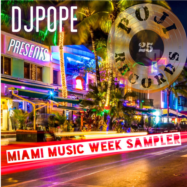 VA - DjPope Presents Miami Music Week Sampler - (POJI Records)