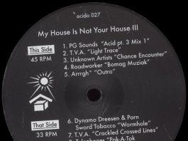 VA - My House Is Not Your House III [Acido]