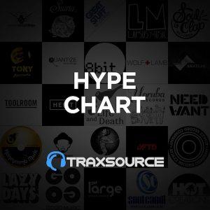 Traxsource Hype Chart (25 Oct 2018)