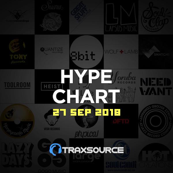 Traxsource Hype Chart (27 Sep 2018)