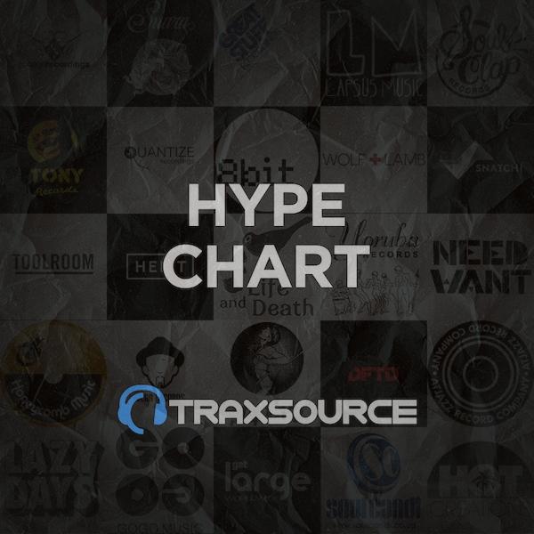 Traxsource Hype Chart (13 Dec 2018)