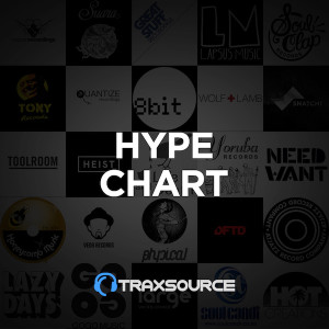 Traxsource Hype Chart July 1st, 2019
