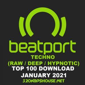 Beatport Top 100 Techno (Raw / Deep / Hypnotic) January 2021